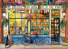 Eurographics Greatest Bookstore in World 1000 Piece Puzzle