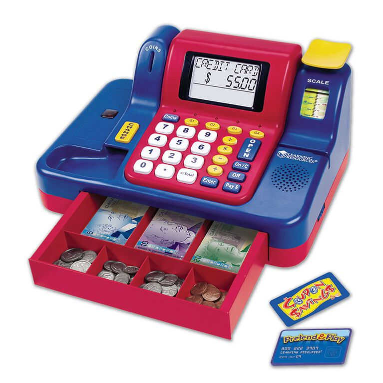 Learning Resources - Teaching Cash Register - English Edition