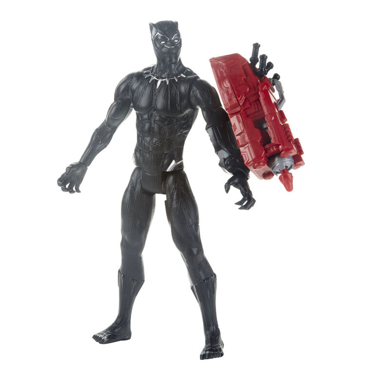 Marvel Avengers: Infinity War Titan Hero Series Black Panther 12-Inch-Scale Action Figure with Titan Hero Power FX Port
