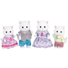 Calico Critters-Persian Cat Family