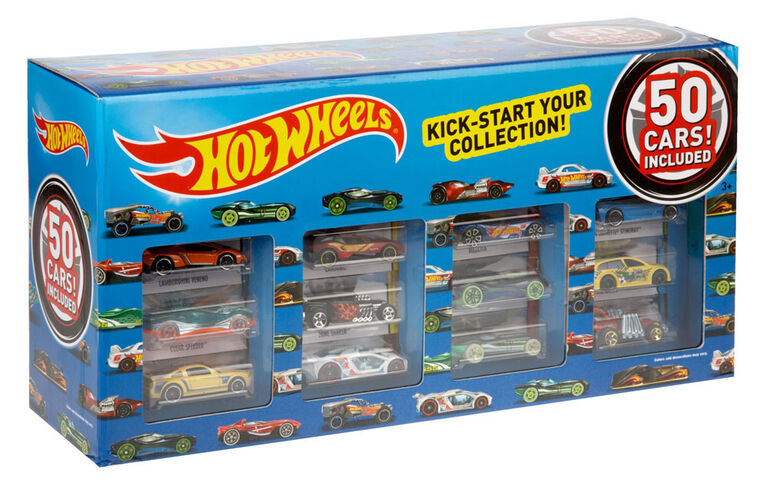 Hot Wheels Vehicle 50 Pack - Styles May Vary - R Exclusive