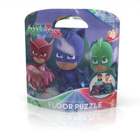 PJ Masks 46-Piece Kids Floor Puzzle