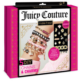 Juicy Couture Letters Beaded Charm Bracelets