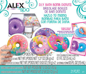 ALEX Spa - D.I.Y Bath Bomb Donuts