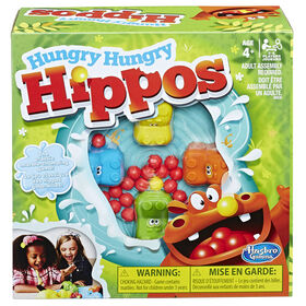 Jeu Hungry Hungry Hippos de Hasbro Gaming