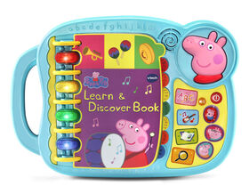 VTech Peppa Pig Learn & Discover Book - English Edition