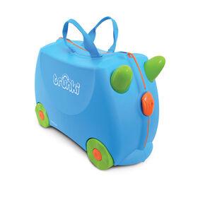 Trunki Ride-on Suitcase - Terrance Blue