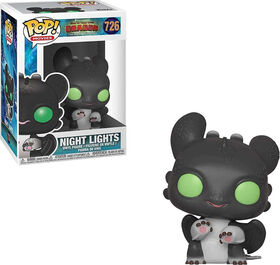 Funko POP! Movies: How To Train Your Dragon 3 - Night Lights (Green Eyes) Vinyl Figure