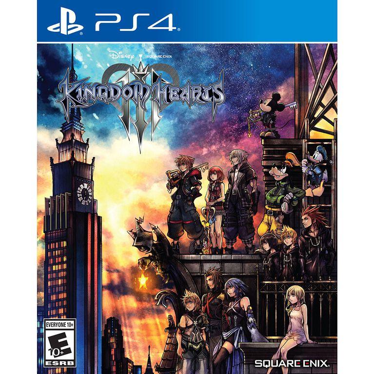 Kingdom Hearts 3 Play Station 4
