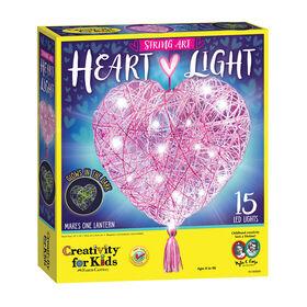 String Art Heart Light