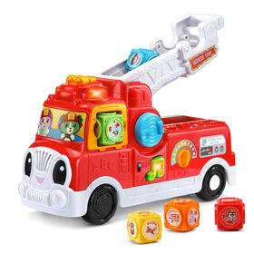 LeapFrog® Tumbling Blocks Fire Truck - English Edition - R Exclusive