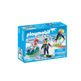 Playmobil - Winter Sports Trio